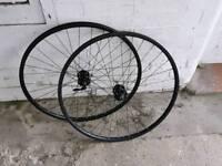 29er wheelset can't remember make but not cheap