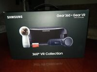SAMSUNG GEAR 360° + GEAR VR WITH CONTROLLER