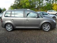 VW Touran SE Blue motion TDi 7 seats