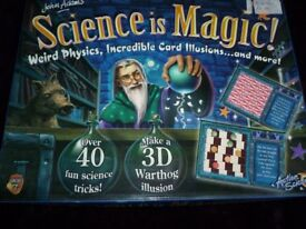 John Adams - SCIENCE IS MAGIC Set Over 40 Fun Science Tricks