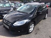 2012/12 FORD FOCUS 1.6 TDCi EDGE 5DR BLACK,£20 YEAR ROAD TAX,GREAT ECONOMY,HIGH SPEC,DRIVES WELL