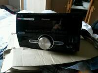 Double Din Pioneer Car CD Player/USB/Aux Head-Unit, Cost £200 new!
