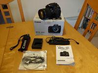 Canon 760D DSLR & 18-135mm STM Lens plus accessories