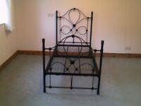 Metal Single Bed frame ( No mattress )