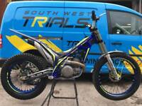 Sherco 300 2017 factory trials bike