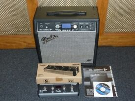 Fender G Dec 30 combo with 4 way footswitch, manual and software