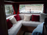 Upholstery for caravans, camper vans, horse boxes, boats, garden furniture, window seats, curtains.