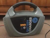 Halfords New Car Battery Charger - Used Once