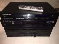 DVD player, CD player, Tape deck