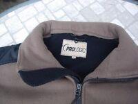prologic xl fleece fishing waistcoat.