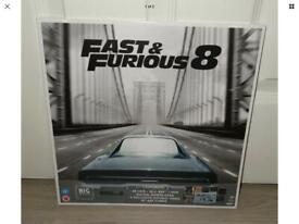 Fast And Furious 8 4K UHD Blu Ray+DVD+UV Big Sleeve Edition
