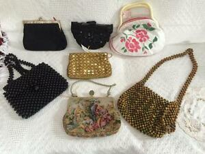 Antique and vintage purses