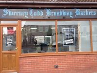 Barbers/Hairdresser shop to rent