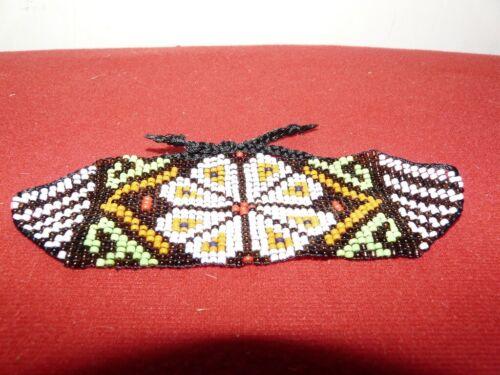 SHIPIBO PERU AMAZON INDIAN BEADED BRACELET
