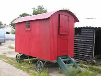 Shepherds Hut Camping Summer House Shed