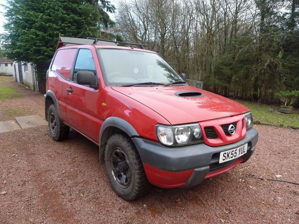nissan terrano 4x4 van for sale in airdrie north lanarkshire gumtree. Black Bedroom Furniture Sets. Home Design Ideas