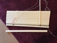Brand new Dunelm wooden Venetian blind. 25 mm slat
