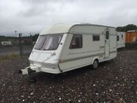 Abi herald 1996 4 berth side dinnete cassette toilet shower hot and cold running water 3 way