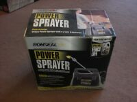 Ronseal Cordless Power Sprayer - Battery Operated Fence Panel Sprayer