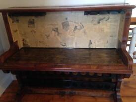 Refurbished piano - piano bar