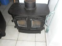 Villager woodburner stove B flat flatmate 7/8 kw fully refurbished