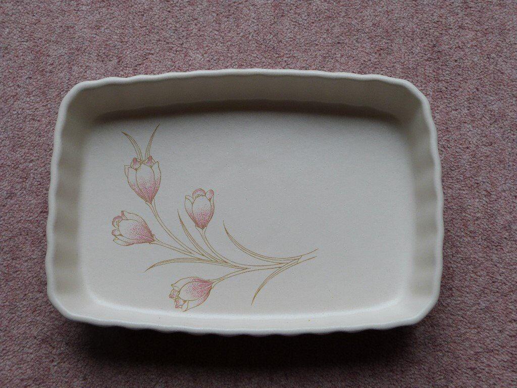 Biltons Spring Bouquet Pattern Rectangular Flan Dish   in Portsmouth ...