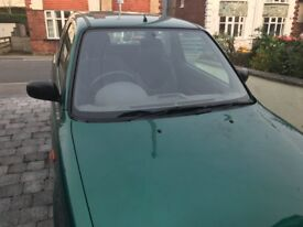 Nissan Micra - Spares or Repairs