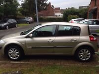 Renault Megane 1.6 VVT Dynamique Proactive 5dr- Automatic , good condition