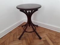 Occasional mahogany colour small table