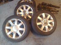 "Audi / vw alloys 5x112 pcd 16 """