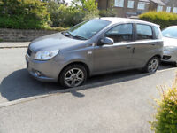 CHEVROLET AVEO 09 PLATE 1.4 LONG MOT BUT NEEDS A REPAIR SWAP FOR MOTORCYCLE