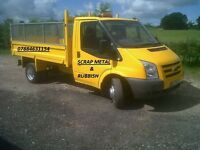 Scrap metal/Rubbish collection, pay best price cash, 7 days a week