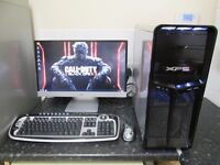 ★Complete Gaming Pc,Upgraded Dell XPS 630i + Full HD 23Xi Monitor★