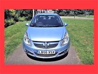 (18000 Miles) AUTO --- 2007 Vauxhall Corsa 1.4 Automatic 5 Door --- Vauxhall Corsa 1.4 i 16v Design