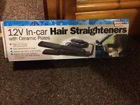 Car hair straighteners