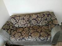 REDUCED PRICE 2 x sofa with washable cover in good condition