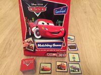 Disney Cars Matching Pairs Game