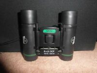 Viking 8*21 mini binoculars with variable right diopter lens