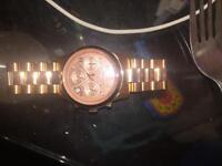 Micheal kors rose gold and Armani watches (genuine)