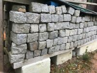 Granite Cassies Setts Approx 1000 Available - Collection from ABOYNE