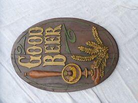 Good Beer plaque