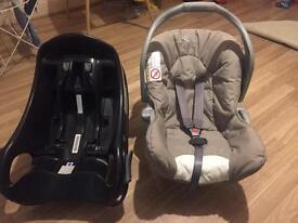 Newborn baby car seat