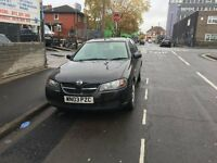 NISSAN ALMERA 2003 BLACK 1 OWNER FROM NEW