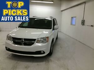 2015 Dodge Grand Caravan CREW PLUS, LEATHER SUNROOF, DUAL DVD AN