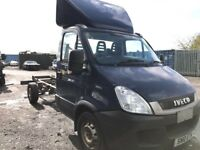 Iveco Daily pic up chassi cab LWB 2010 year van