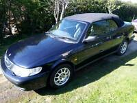 Saab 9-3 Cabriolet / Convertible 2.0T SE Full Spec With Leather Interior