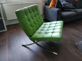 Green Lounge Chair for sale