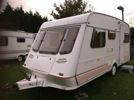 Caravan 4/5/6 berth Fleetwood Garland 1994 lovely condition awning available