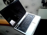 A Toshiba Satellite A100 laptop in very good condition
