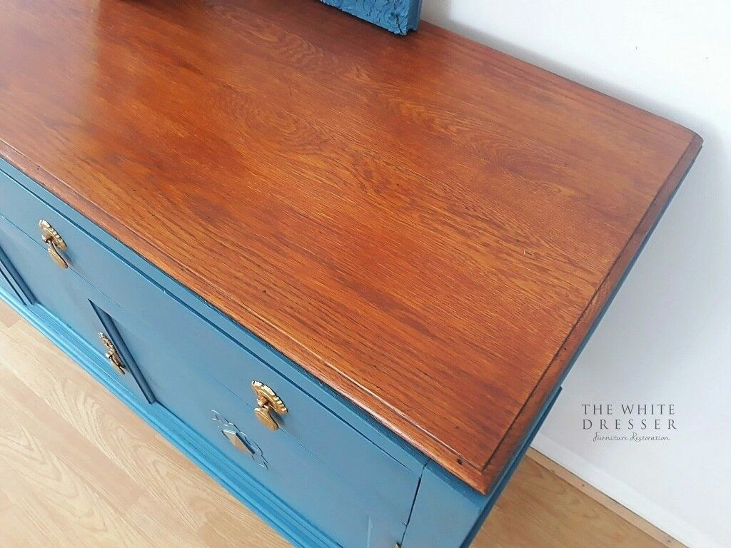 cws pelaw antique. Delighful Antique Beautiful 1940u0027s Sideboard Buffet Hand Painted  CWS Cabinet Factory Pelaw  On Tyne  In New Milton Hampshire Gumtree And Cws Antique